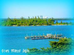 Docks on Fort Pierce Inlet near the bridge - photo by Marcy Brennan