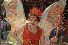 Magnolia Fawn the Fairy at Scarborough Renaissance Festival