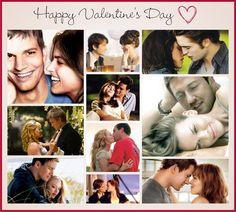 Happy Valentine's Day!!!  No Brasil só comemoramos no mês de Junho, mas têm como não ficar boba com a data mais romântica do Mundo? *-*