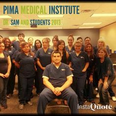 Students love their instructors at Pima Medical Institute.