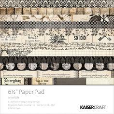 Kaisercraft Art Of Life Paper Pad