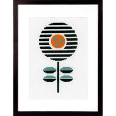 Add some mod to your decor with this graphic flower. The kit has everything you...