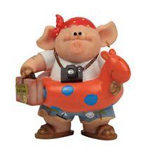 Piggin / Pig Collectors Figurine - Holiday # 14350