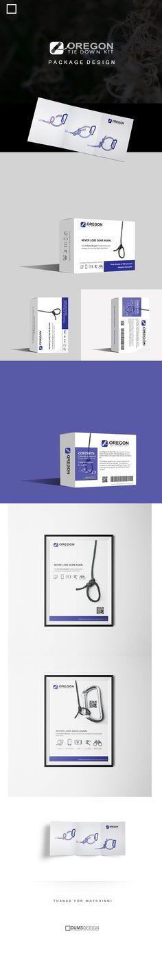 Oregon Tie Down Kit - Packaging Design on Behance