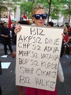 Taksim Gezi Parkı direnişi.