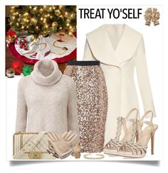 """""""Treat Yo'Self"""" by alina-n ❤ liked on Polyvore featuring Improvements, J.W. Anderson, French Connection, Vince Camuto, Chanel, Hermès, Michael Kors, Allurez, Jaclyn Smith and treatyoself"""