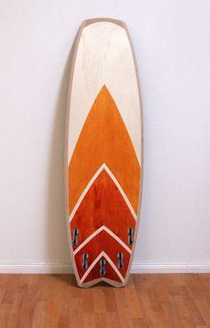 wooden surfboard design