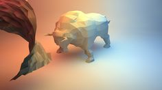 Low Poly Animals with Minimal Props : Test Project on Behance