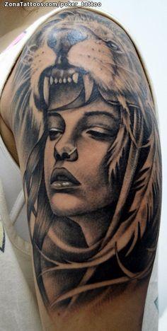 Tatuaje hecho por Ismael Hidalgo, de Barcelona (España). Si quieres ponerte en contacto con él para un tatuaje o ver más trabajos suyos visita su perfil: http://www.zonatattoos.com/poker_tattoo Si quieres ver más tatuajes en el hombro visita este otro enlace: http://www.zonatattoos.com/tatuaje.php?tatuaje=106515