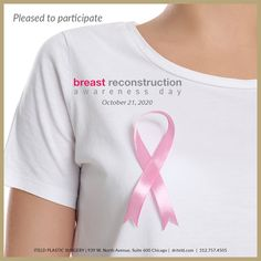 We are pleased to participate in Breast Reconstruction Awareness (BRA) Day. #BRAday #BRAday2020 boardcertifiedplasticsurgeon #chicagoplasticsurgery #boardcertified #plasticsurgeon