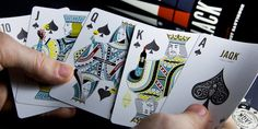 Jaqk cellars playing cards Designed by Hatch SF