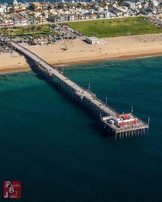The Balboa Pier in Newport Beach, California via flickr