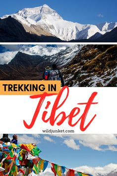 Trekking in Tibet is the ultimate goal for avid hikers. If the lofty heights don't scare you, check out my guide to trekking in Tibet to plan your adventure. Adventure Activities, Travel Activities, Travel Guides, Travel Hacks, Travel Tips, Tibet, Trekking, Asia Travel, Trip Planning