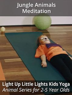 """A calming, guided meditation, specifically for 2-5-year-olds complete with the affirmations, """"I am awake, I am strong, I am heard, I am listening.""""  www.foodmatters.com #kidsyoga"""