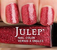"""The Wizard of Oz Nail Collection in shimmering """"Ruby Slippers"""" #WizardofOz75"""