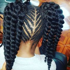 Cute Style For Little Girls @naturalhairkids - http://wordpress-15463-34921-88499.cloudwaysapps.com/hairstyle-gallery/kids-hairstyles/cute-style-for-little-girls-naturalhairkids/