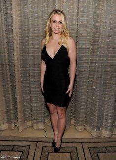 Britney Spears Black V Neck Mini Bandage Dress [Black V Neck Mini Bandage] - $127.00 : Fashion dresses, 50% off Designer dresses at UrDressOnline