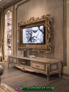 Diy home decor Home Decor Furniture, Diy Home Decor, Furniture Design, Luxury Furniture, Home Confort, Framed Tv, Tv Decor, Interior Decorating, Interior Design