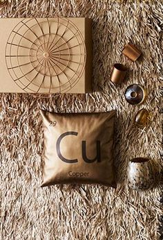 Get glamorous with BoConcept, copper and brass trends by BoConcept.