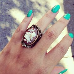 Love the ring and NailS
