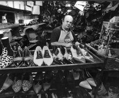 Rocco's shoes in Station st, Malvern has been handmaking shoes and boots for more than 40 years, and has in that time made bespoke footwear for David Bowie, The Rolling Stones, The Strokes, Dandy Warhols, Jet and many others in the local and international music scene