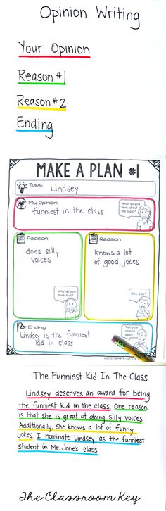 opinion writing color coding, this teaching idea would really help kids organize their writing