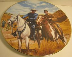 The Lone Ranger and Tonto Classic TV Westerns Plate Collection