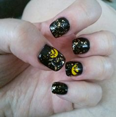 Iowa Hawkeye nails!