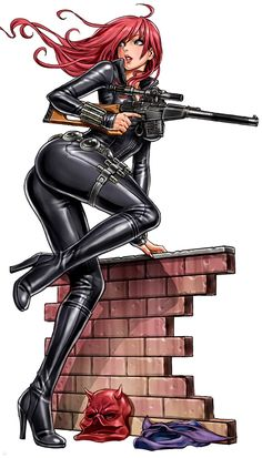 Bishoujo Style Black Widow by Shunya Yamashita – Avengers, Marvel Comics, Anime,… - Marvel Universe Heros Comics, Marvel Comics Art, Bd Comics, Archie Comics, Comics Girls, Anime Comics, Black Comics, Ms Marvel, Black Widow Marvel