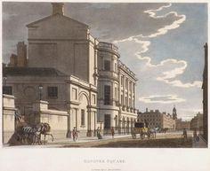 Thomas Malton Jr, Hanover Square, July 1800