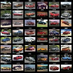 Ford mustang pictures through the years & Ford mustang pictures through the years - All Pictures top markmcfarlin.com
