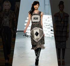 Rodarte Fall 2011.  Kinda makes me want to make DIY quilt clothes.