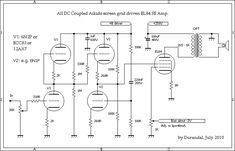 All DC Coupled EL84 Single Ended Amplifier