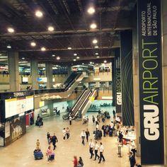 Aeroporto Internacional de São Paulo / Guarulhos (GRU) in Guarulhos, SP