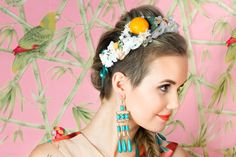 Ss16, Tropical, Lady, Hair Styles, Beauty, Collection, Fashion, Beleza, Moda