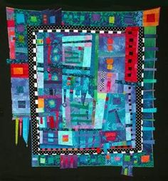These are beautiful art quilts. Diane makes them easy and fun to make!