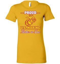 Proud U.S. Marine Mother-in-Law Women's T-Shirt