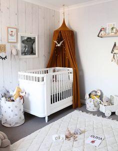 Une chambre de bébé comme un cocon