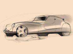 Citroen DS concept best sketch ever