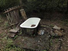 DIY Outdoor Hot Tub