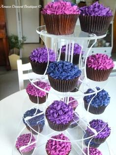 Hydrangea Cupcakes   Amaze Dessert Boutique