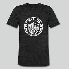 Unisex T-Shirt für Männer und Frauen, 50% Polyester, 25% Baumwolle, 25% Viskose.