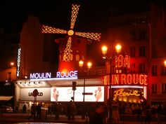 The Moulin Rouge! :D