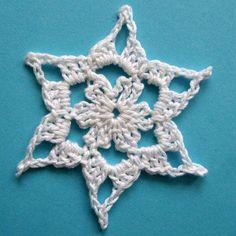 Stern 1 | michamade Crochet Tree, Crochet Motif, Crochet Patterns, Embroidered Flowers, Needlework, Free Pattern, Crochet Earrings, Jewelry, Anti Stress