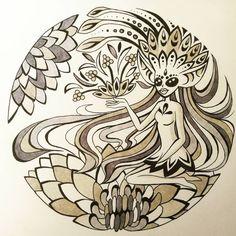 Pretty circle design 😊  #design #pretty #fairydesign #copicmarkers #penart #flowerdesign #illustration #girl #flowers Illustration Girl, Digital Illustration, Circle Design, Design Design, Pen Art, Flower Designs, Fairy, Illustrations, Pretty
