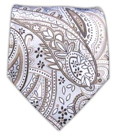Playful Paisley - Taupe/Light Champagne