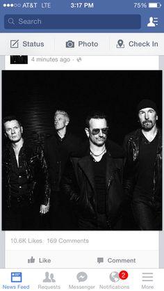 ❤️ U2 Music