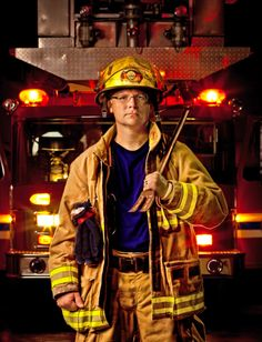 My version of Joe McNally's firefighter night shoot Mirror Photography, Portrait Photography, Firefighter Photography, Senior Pictures, Senior Pics, Firefighter Pictures, Ap Studio Art, Environmental Portraits, The Joe
