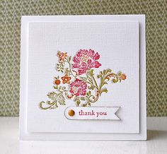 Stampin' Up ideas and supplies from Vicky at Crafting Clare's Paper Moments: Three Minute Thursday Fresh Vintage