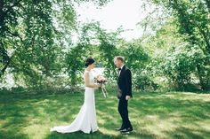 [Wedding] - Indian Trail Club in Franklin Lakes, NJ - Ben Lau Wedding First Look, On Your Wedding Day, Outdoor Ceremony, Wedding Ceremony, Jessica David, Indian Trail Club, Franklin Lakes, Going To Rain, Wedding Photos